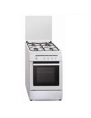 Cocina Vitrokitchen Cb55bb Blanca 4...
