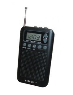 Radio Nevir Nvr135d Negra...