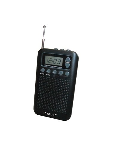 Radio Nevir Nvr135d Negra Auriculares...