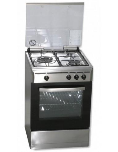 Cocina Rommer Vch356 X Fg Inox Butano...