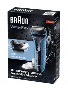 Afeitadora Braun Waterflex...
