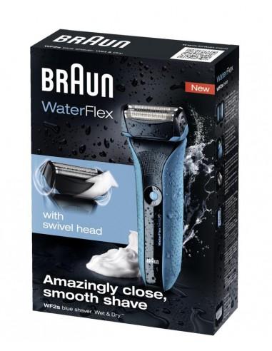 Afeitadora Braun Waterflex Blue...