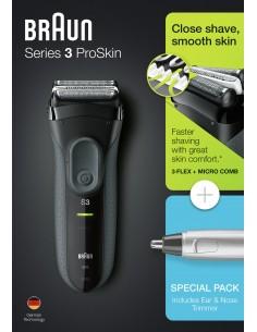 Afeitadora Braun 3000vs...