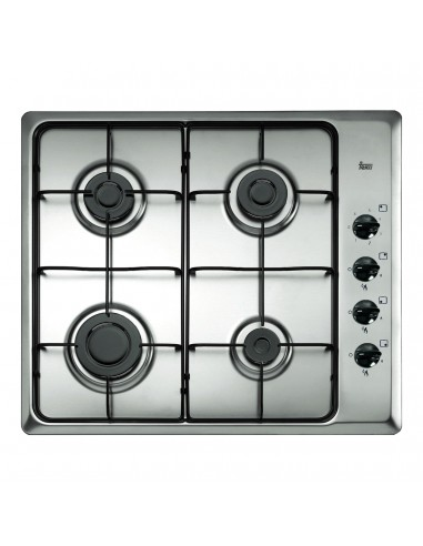 Placa Teka Hlx60 4 G Al Natural Inox...