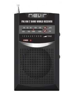 Radio Nevir Nvr136n Negra...