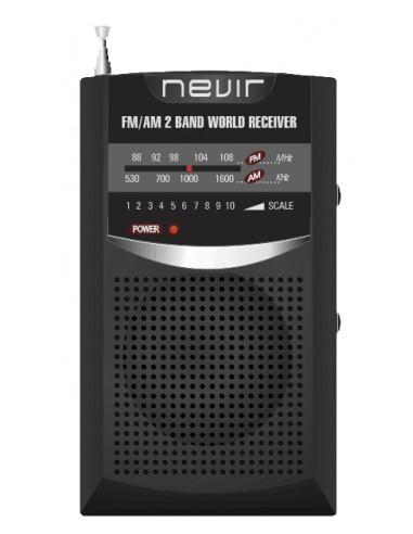 Radio Nevir Nvr136n Negra Altavoz...